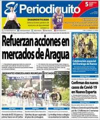05/04/2020  PRIMERA PAGINA DIARIO DE VENEZUELA