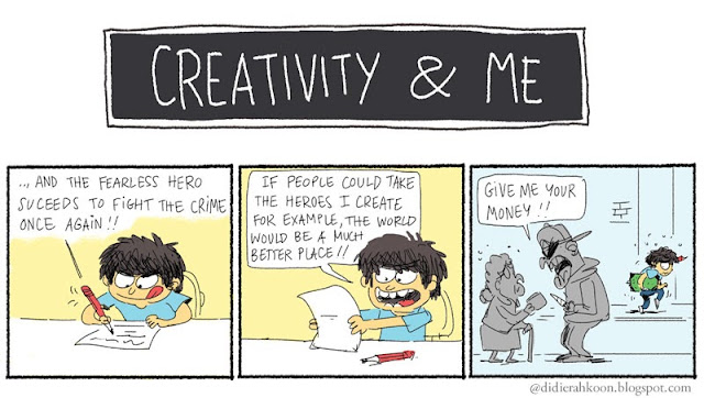 Creativity and Me - Author's courage