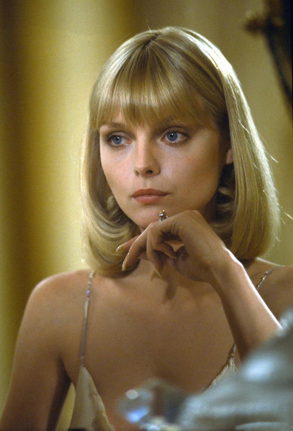 Michelle pfeiffer as elvira hancock - scarface movie stills 1982