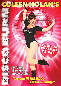 Coleen Nolan's Disco Burn DVD Cover