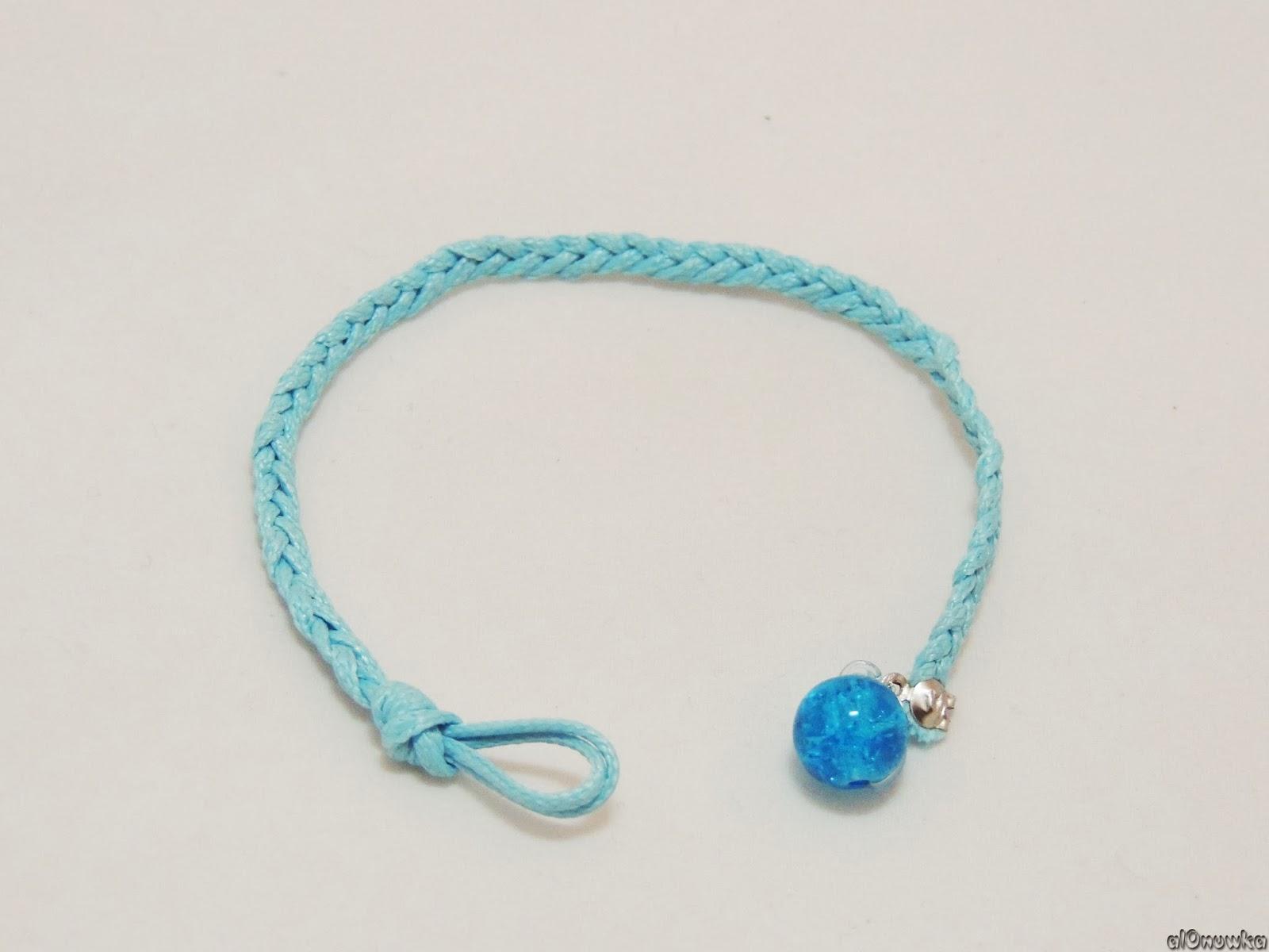 блог советчицы как сделать летний браслет своими руками плетение