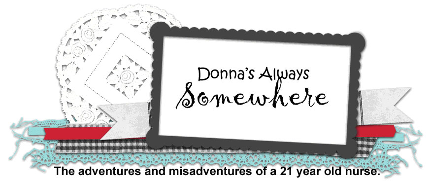 Donna&#39;s Always Somewhere