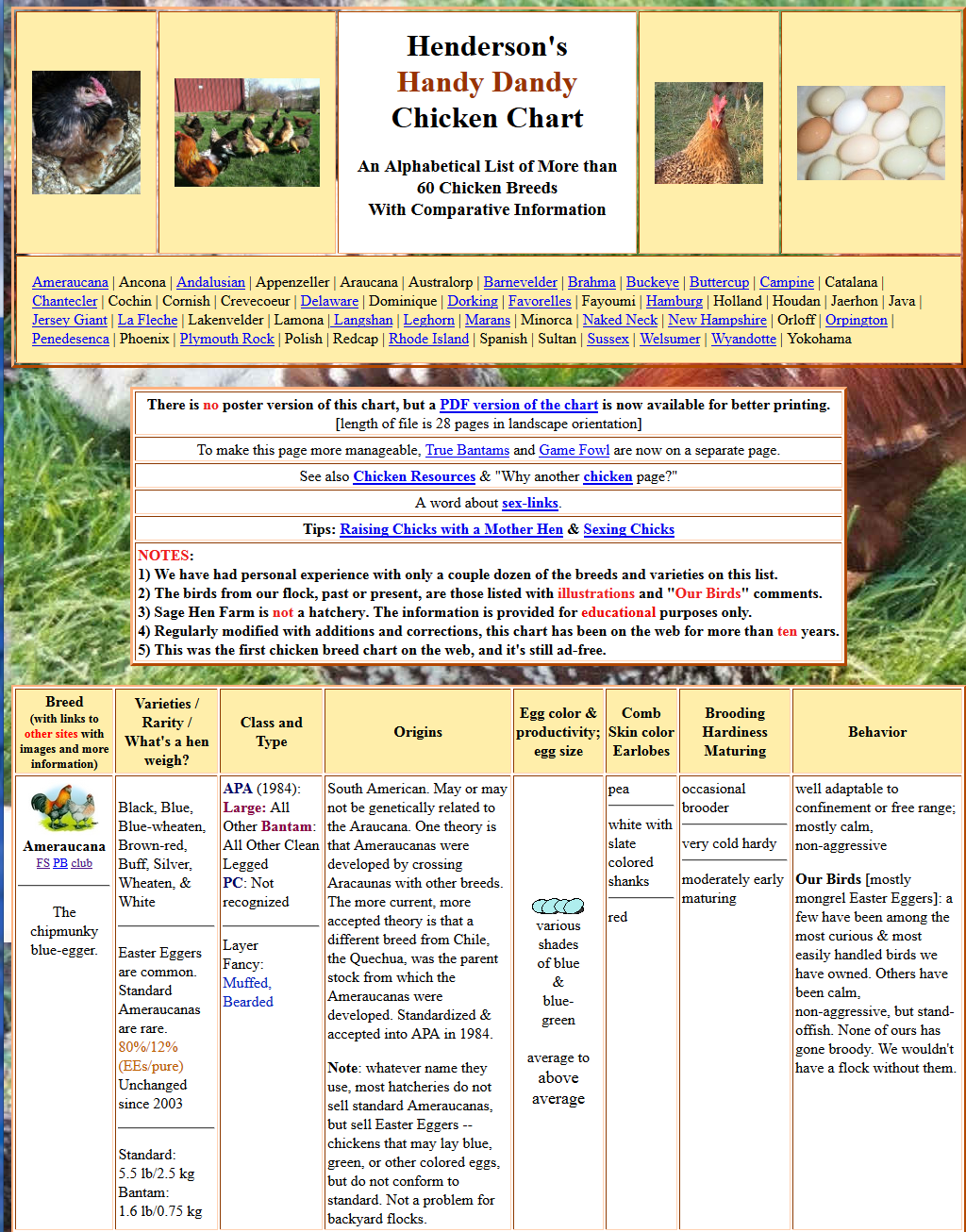 Open inventions hendersons icyousee handy dandy chicken chart here is a screen shot so get on over there and pick out your next chicken breed nvjuhfo Gallery