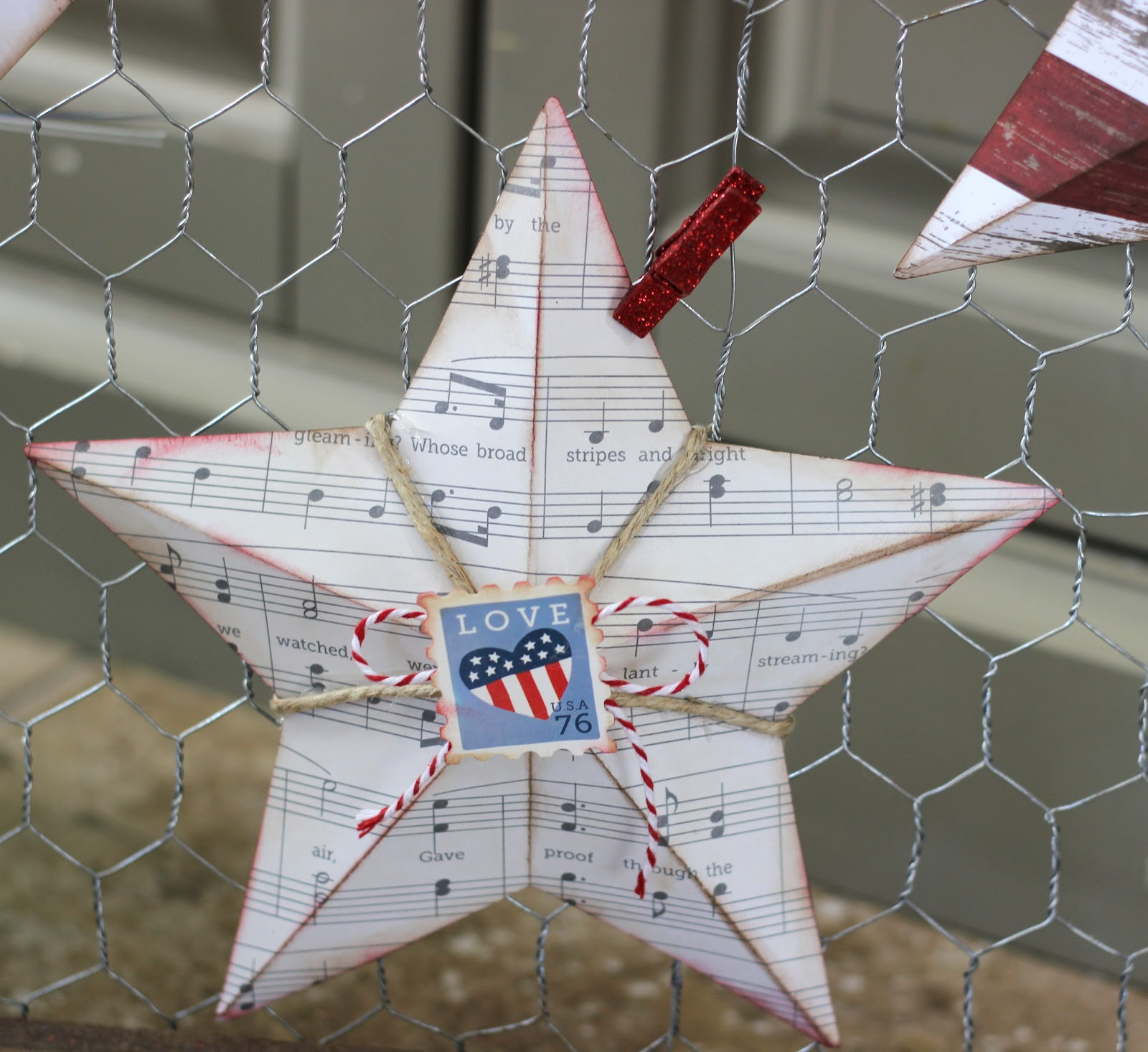 3D pointed star
