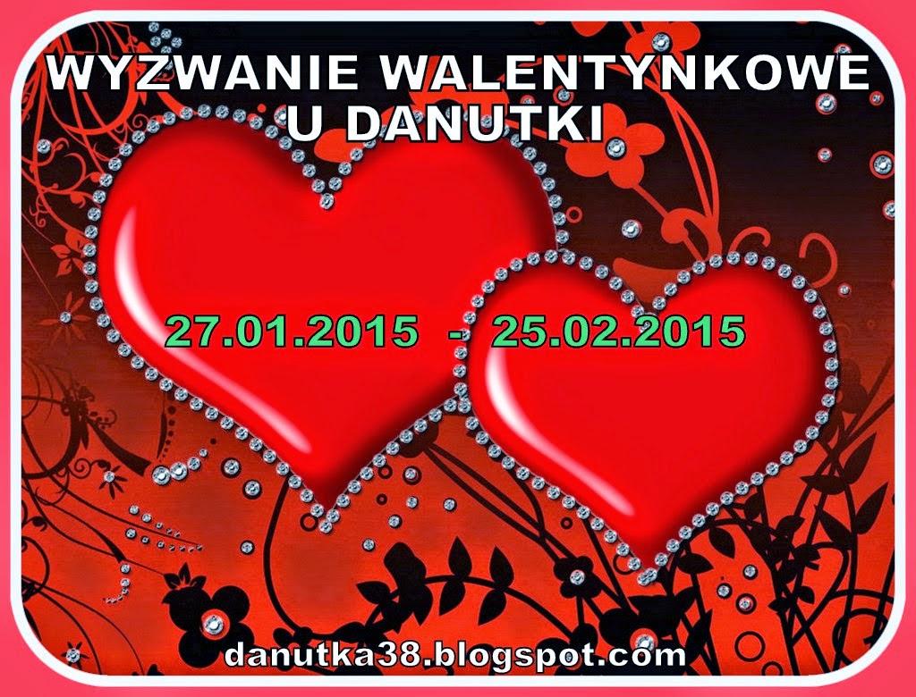 Wyzwanie Walentynkowe u Danutki