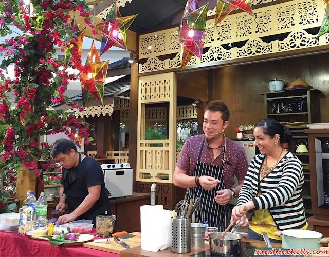 Cooking demo,  Chef Sherson Lian, arpita, Meriahnya Syawal @ 1 Utama, 1 Utama Raya Deco, 1 Utama Raya,  Raya Shopping Mall Deco, Raya 2015, Raya Promotion, Raya Sales
