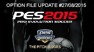 PES 2015 | [UPDATE] Option File pesgalaxy 4.50 by Fybaz