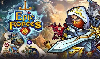 Screenshots of the Epic forces for Android tablet, phone.
