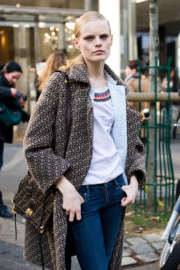 Vanessa Jackman: Paris Fashion Week AW 2011Florence