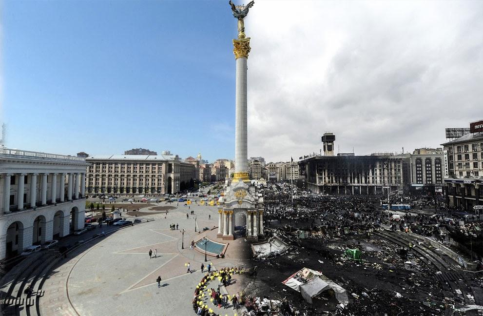Fiesta, revolución y muerte en Ucrania