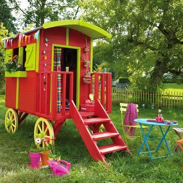 Atelier rue verte le blog cabanes de jardin pour enfants for Cabane jardin castorama