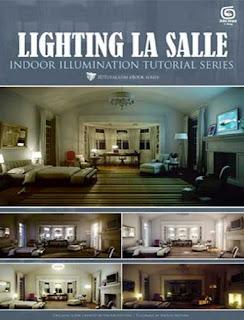 Lighting La Salle - 3dsmax, vray 3DTotal