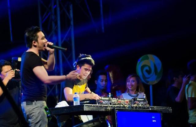DJ Polky Yu and Paulo Walker