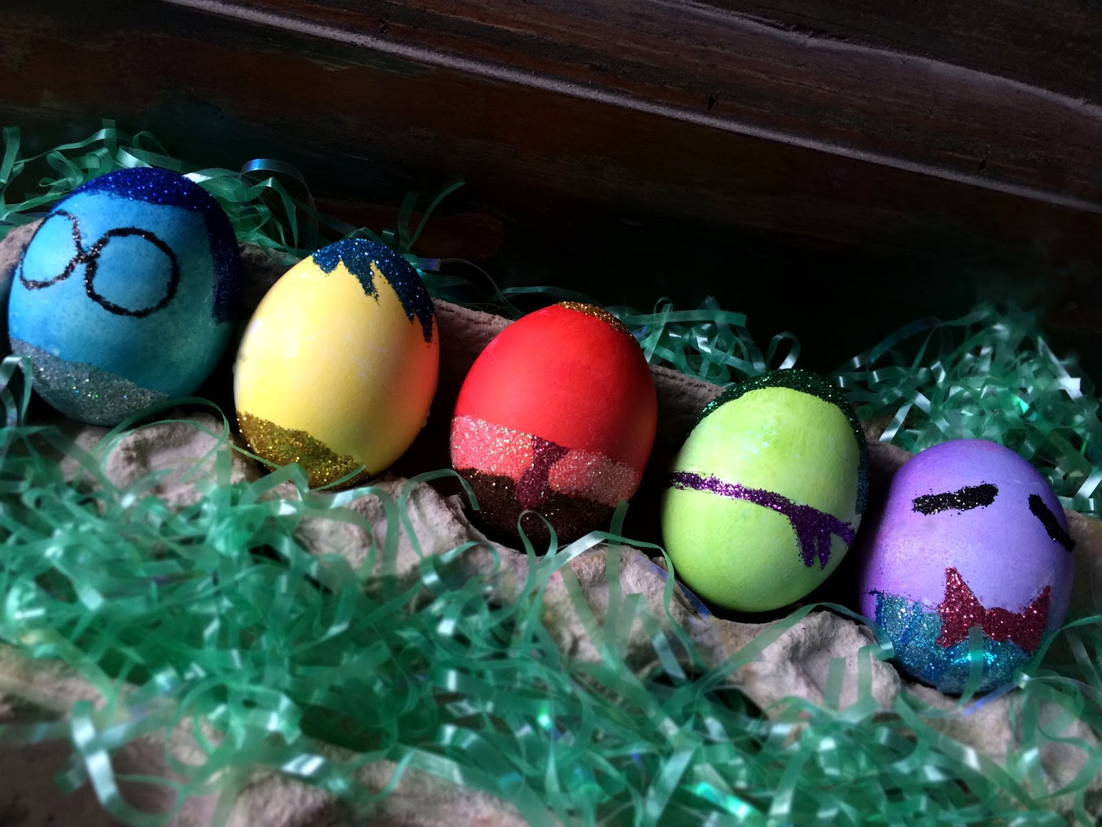 inside out easter egg dying