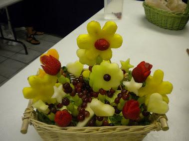 Taller Tallado Fruta