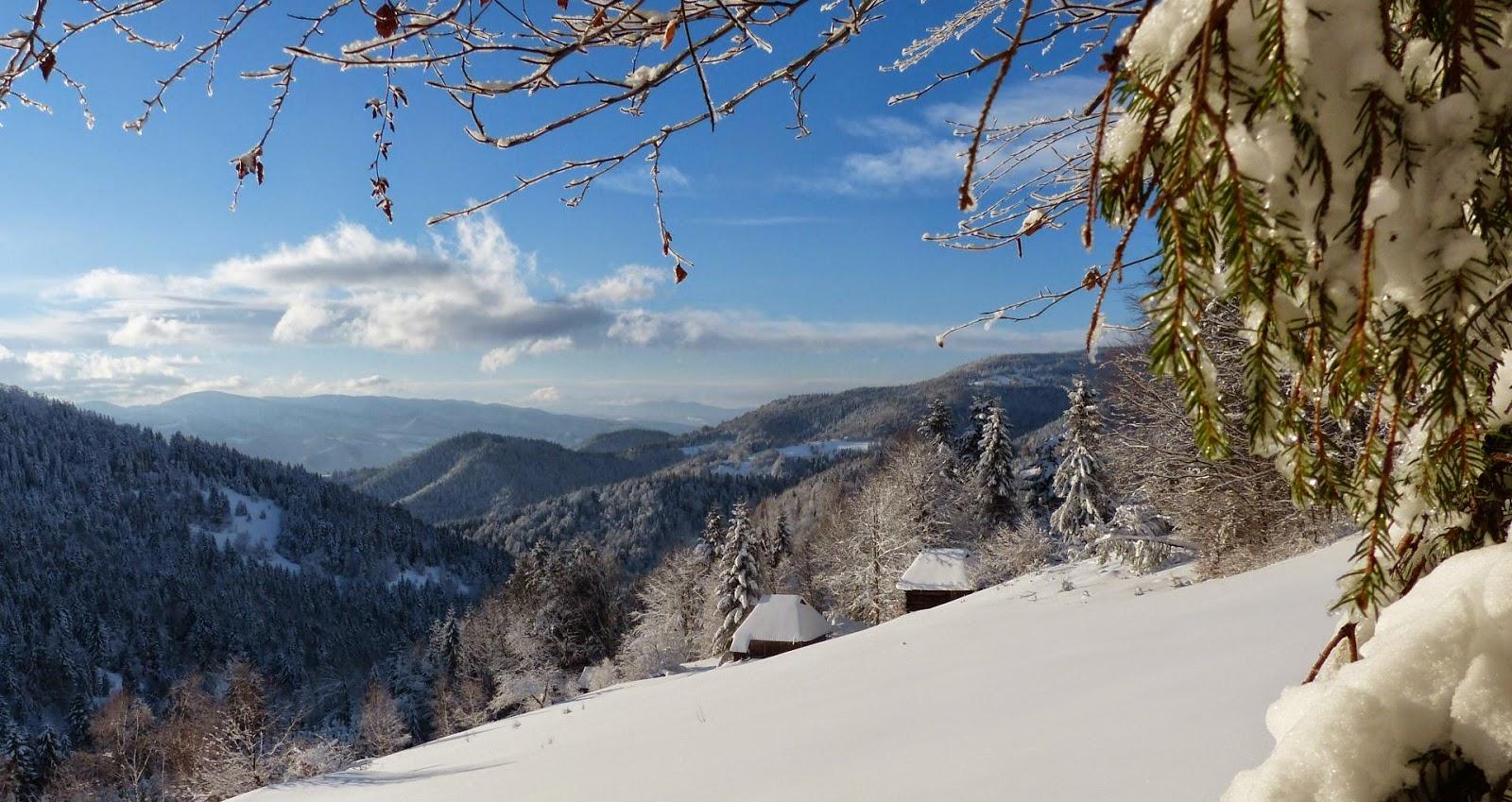 Znalezione obrazy dla zapytania łomnica zdrój  zima