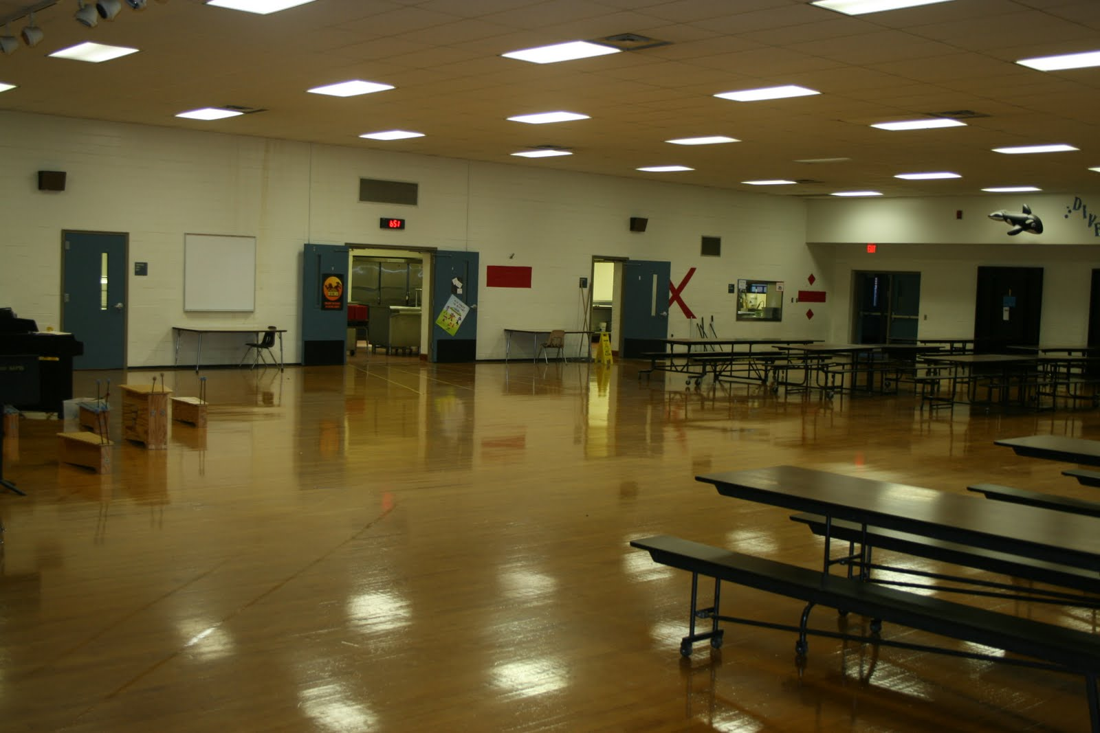 School Cafeteria Kitchen ~ Clays mill elementary cafeteria changes