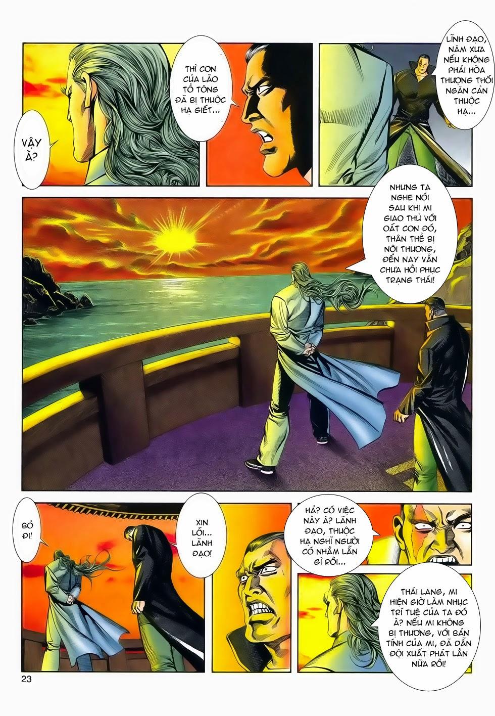 Long Hổ Phong Bạo chap 2 - Trang 23
