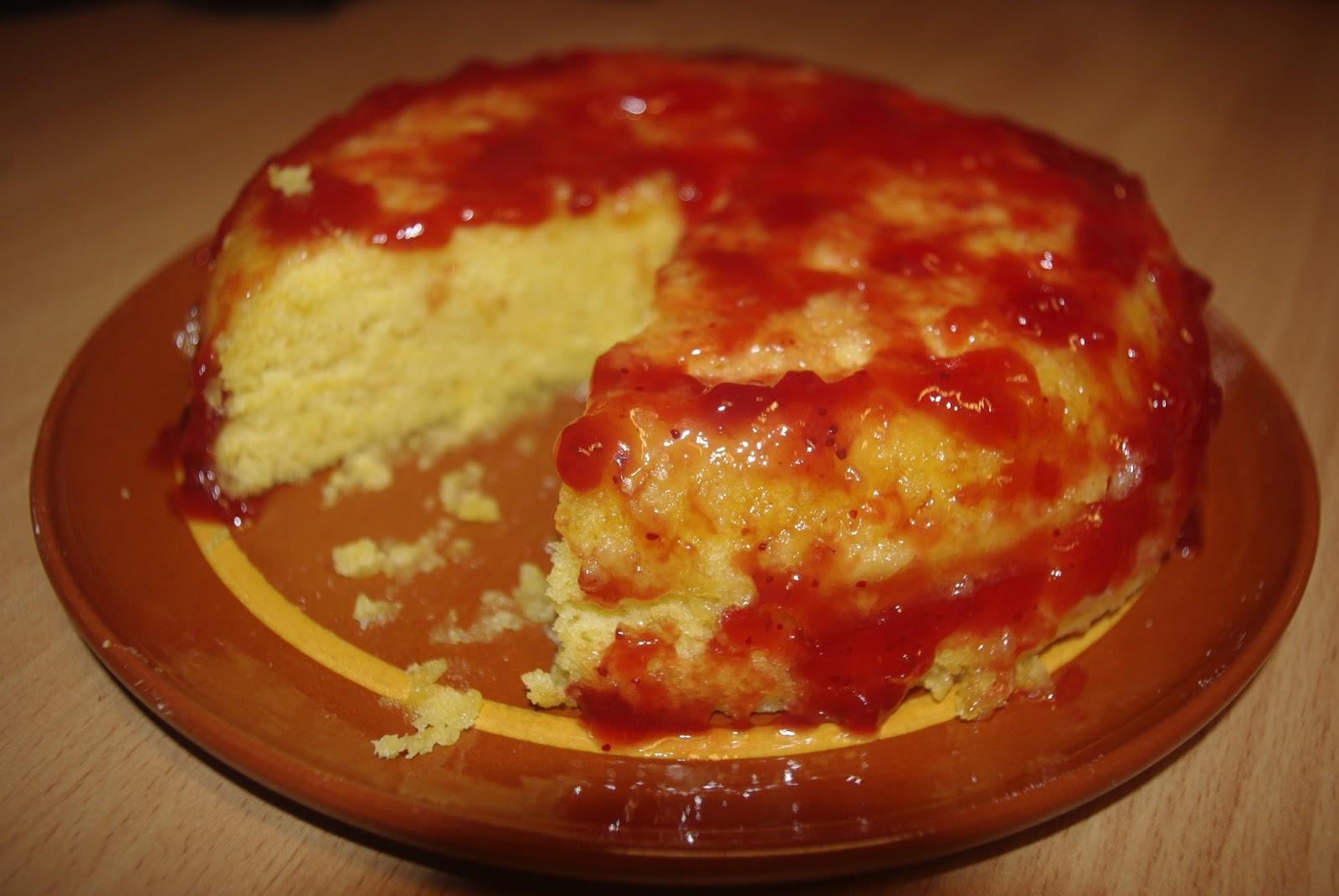 Cocina con amor de madre bizcocho en 10 minutos de - Bizcocho microondas 3 minutos ...