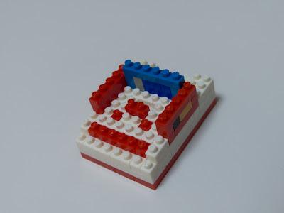 ナノブロックで作ったファミコン