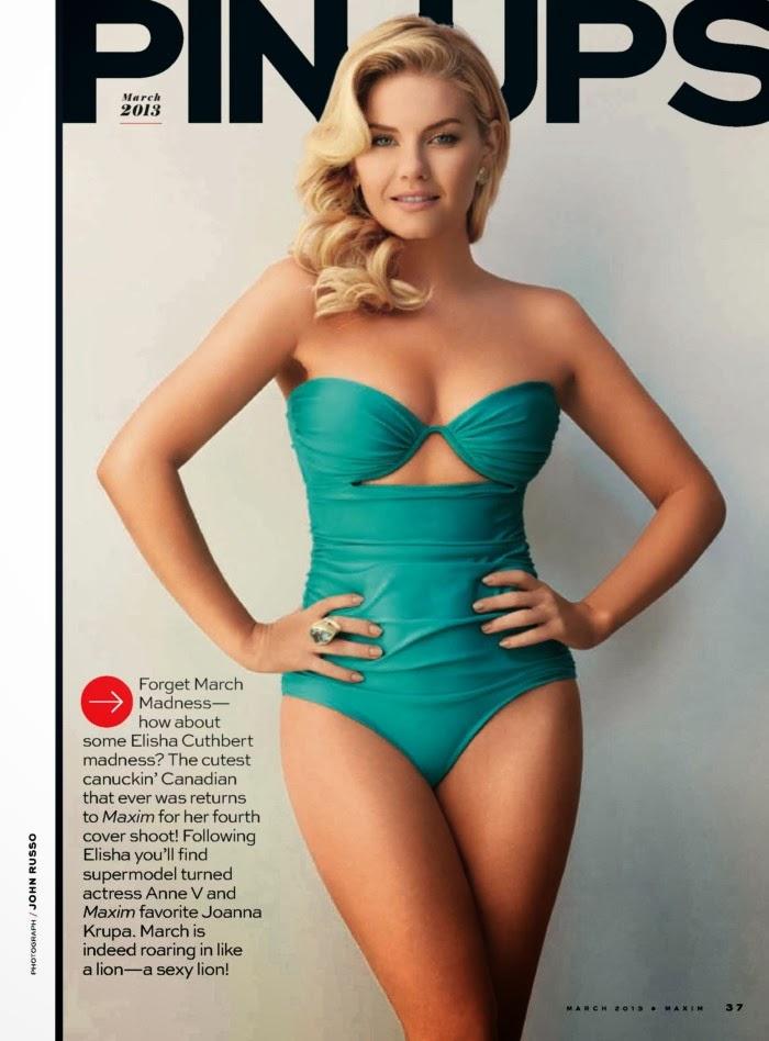 Elisha Cuthbert Senxual Para La Revista Maxim