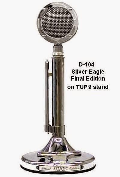 HAM gear: Astatic D104 Silver Eagle Mic