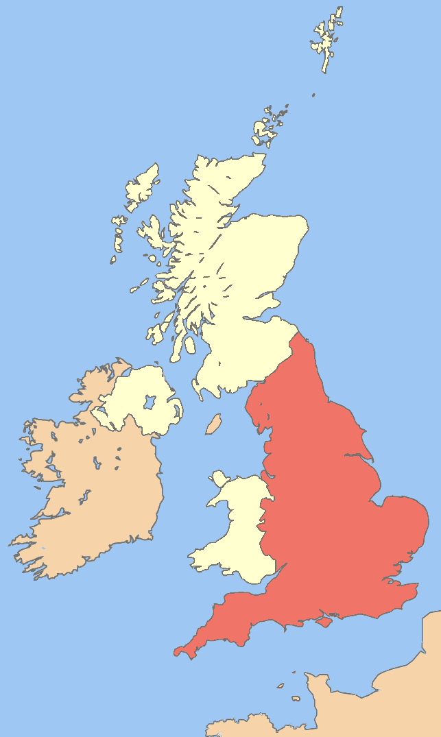 Lewis twibys history and geek stuff what is the difference england is highlighted as red on the above map it was founded sometime in the tenth century as the kingdom of england and quickly became a leading military gumiabroncs Choice Image