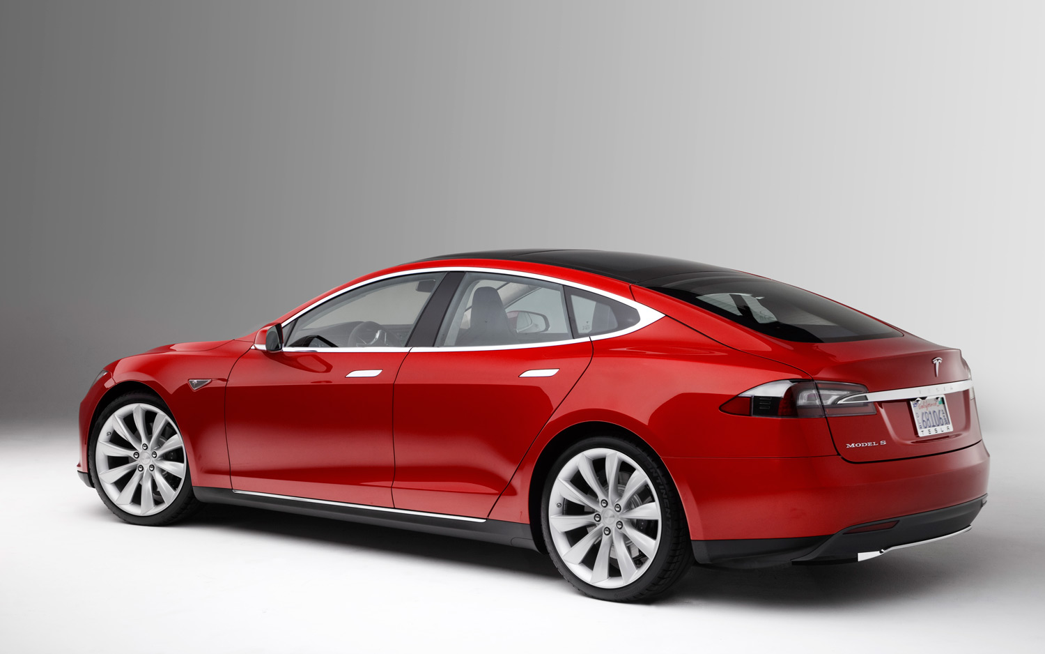 Tesla model s rear for Tesla motors car price