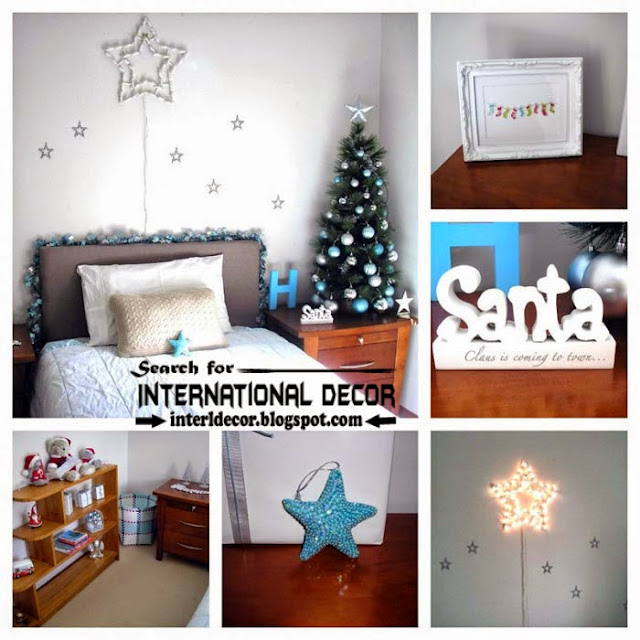 Christmas bedroom decorating ideas 2015 for new year decor, Christmas decor 2015