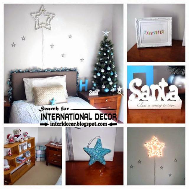Christmas bedroom decorating ideas 2015 for new year decor, Christmas decor 2015