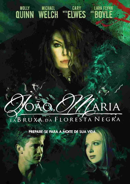 João, Maria e a Bruxa Da Floresta Negra Torrent - Blu-ray Rip 1080p Dublado (2014)