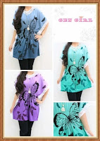 blouse gen girl butterfly