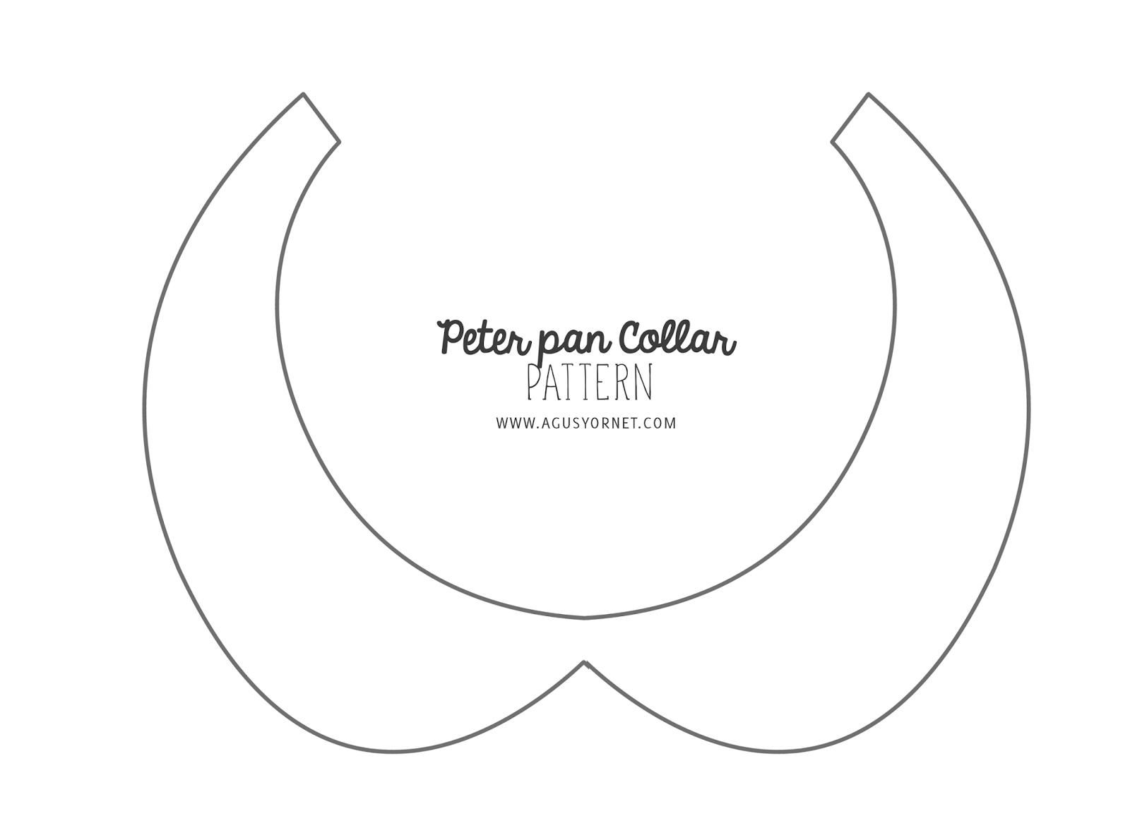 Diy peter pan collar agus yornet blog for Peter pan shirt pattern