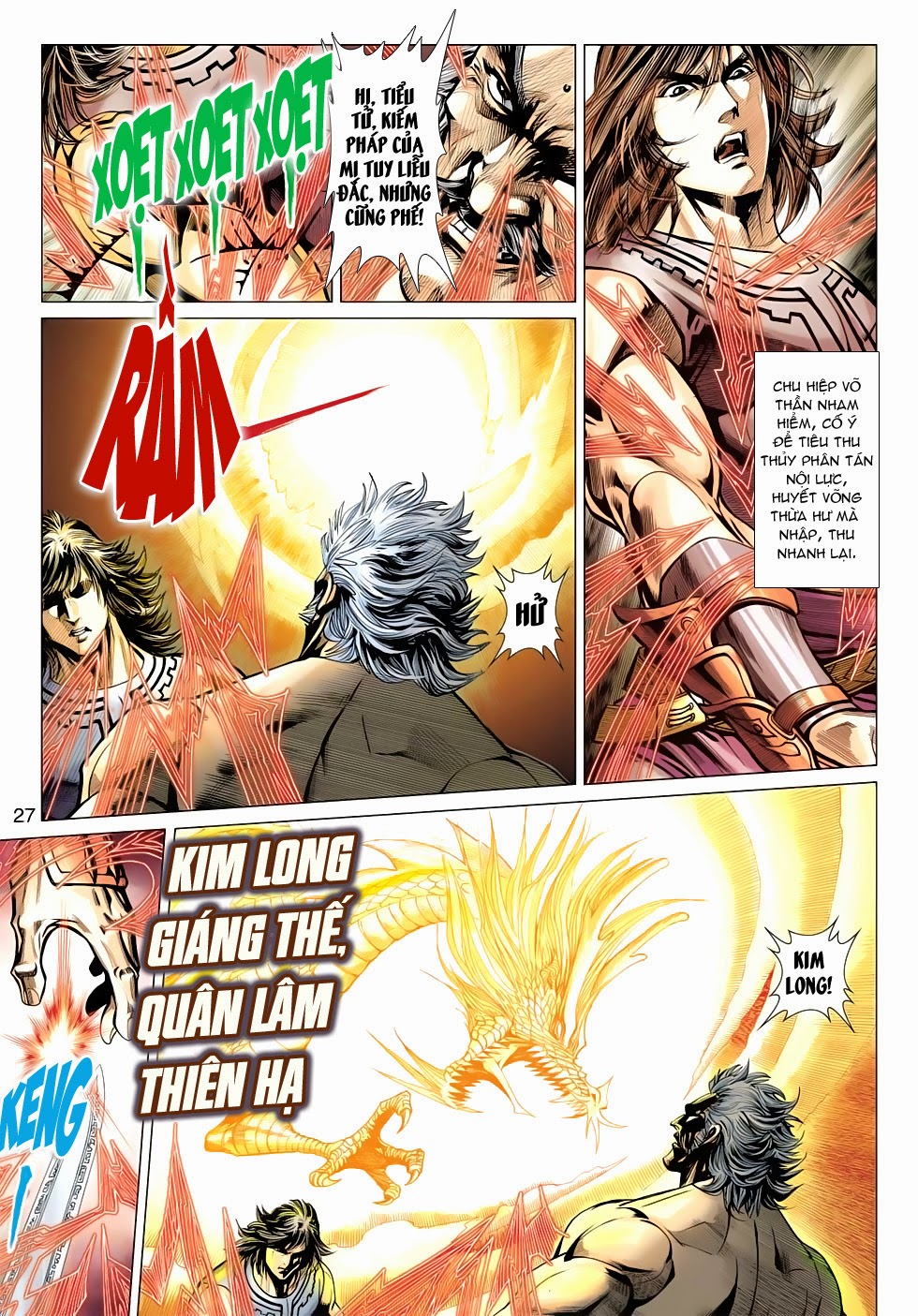 Thần Châu Kỳ Hiệp chap 32 – End Trang 27 - Mangak.info