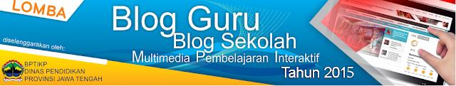 Lomba Blog Guru, Web Sekolah dan Lomba Media Pembelajaran 2015