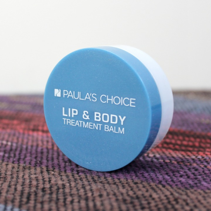 Paula's Choice Lip & Body Treatment Balm jar packaging