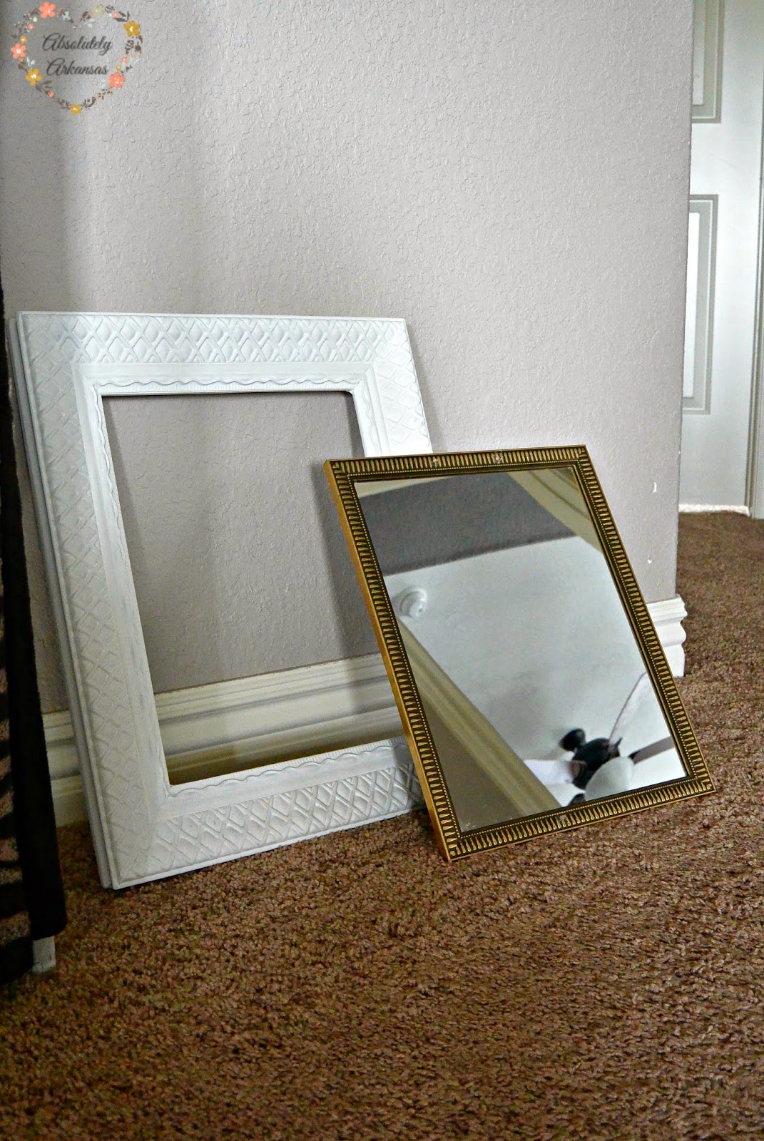 diy carved frame