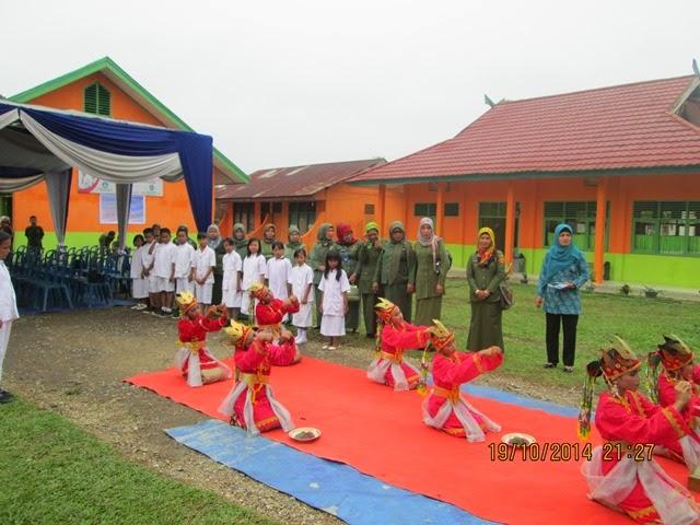 Kunjungan Team Penilaian Sekolah Sehat Tingkat Provinsi Jambi 2014
