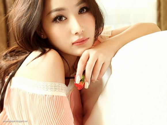 Girls Beauty Wallpaper Zhang Xinyu 42