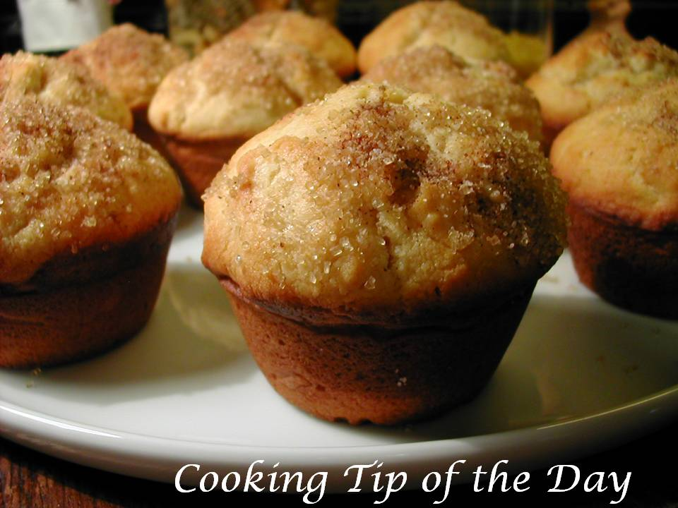 Cooking Tip of the Day: Doughnut Muffins