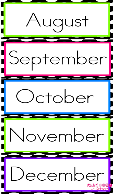 Common Worksheets u00bb Months Of The Year Printables ...