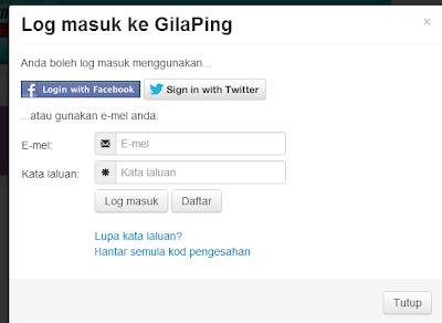 Tambah Trafik Dengan Sistem Ping - Terbaru GILA PING!