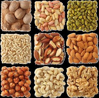 frutos secos semillas