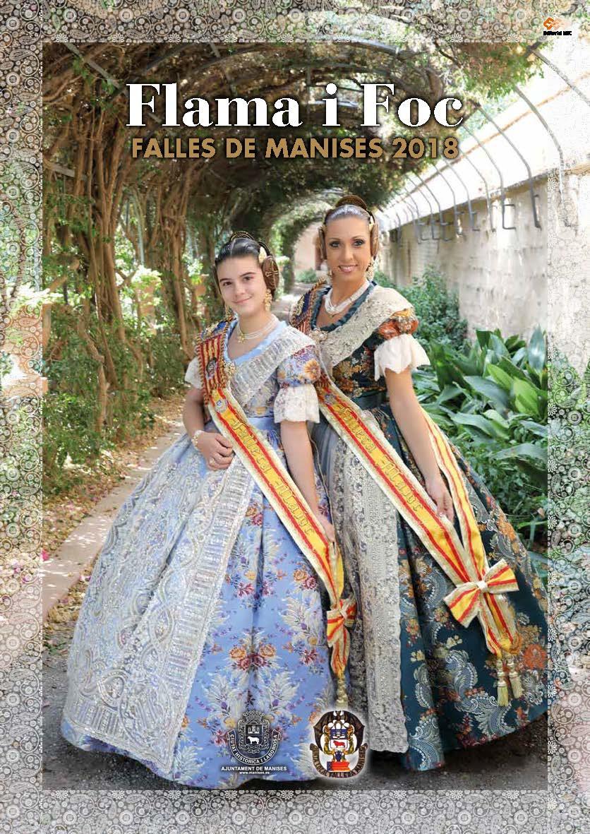 12.03.18 FALLES DE MANISES 2018, PROGRAMA DELS ACTES
