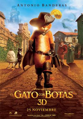 El gato con botas [DvdScreener, Castellano HQ, Animación, 2011]