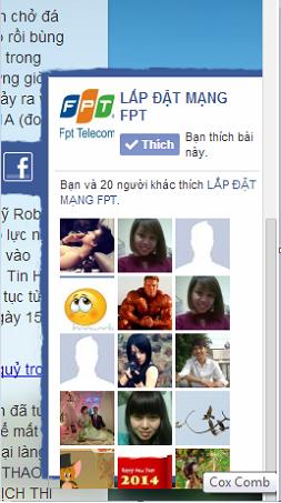 like fanpage facebook