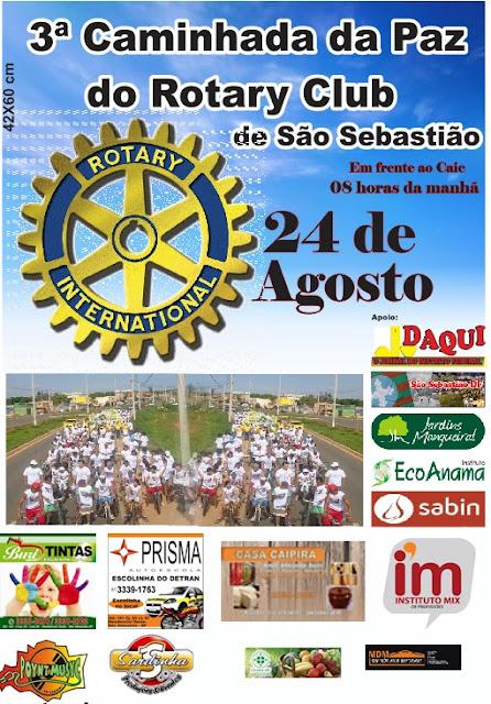 3ª Caminhada da Paz do Rotary Club de São Sebastião