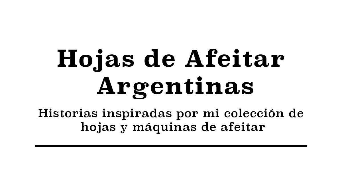 Colección de Hojas de Afeitar Argentinas