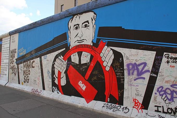 berlinmur på kort