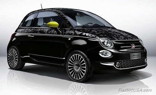 New Fiat 500 in Camouflage Paint